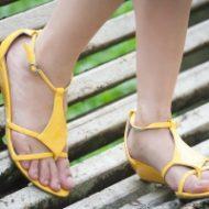 Piękne stopy latem